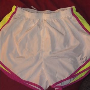 Nike Shorts - White Nike Running shorts